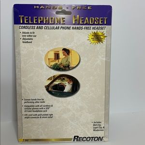 Recoton | Hands Free Telephone Headset | T 940